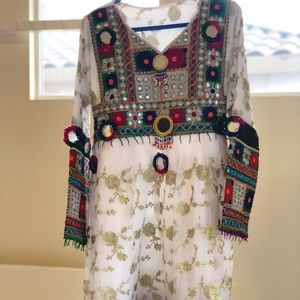 Dresses & Skirts - Traditional White Afghan Clothing